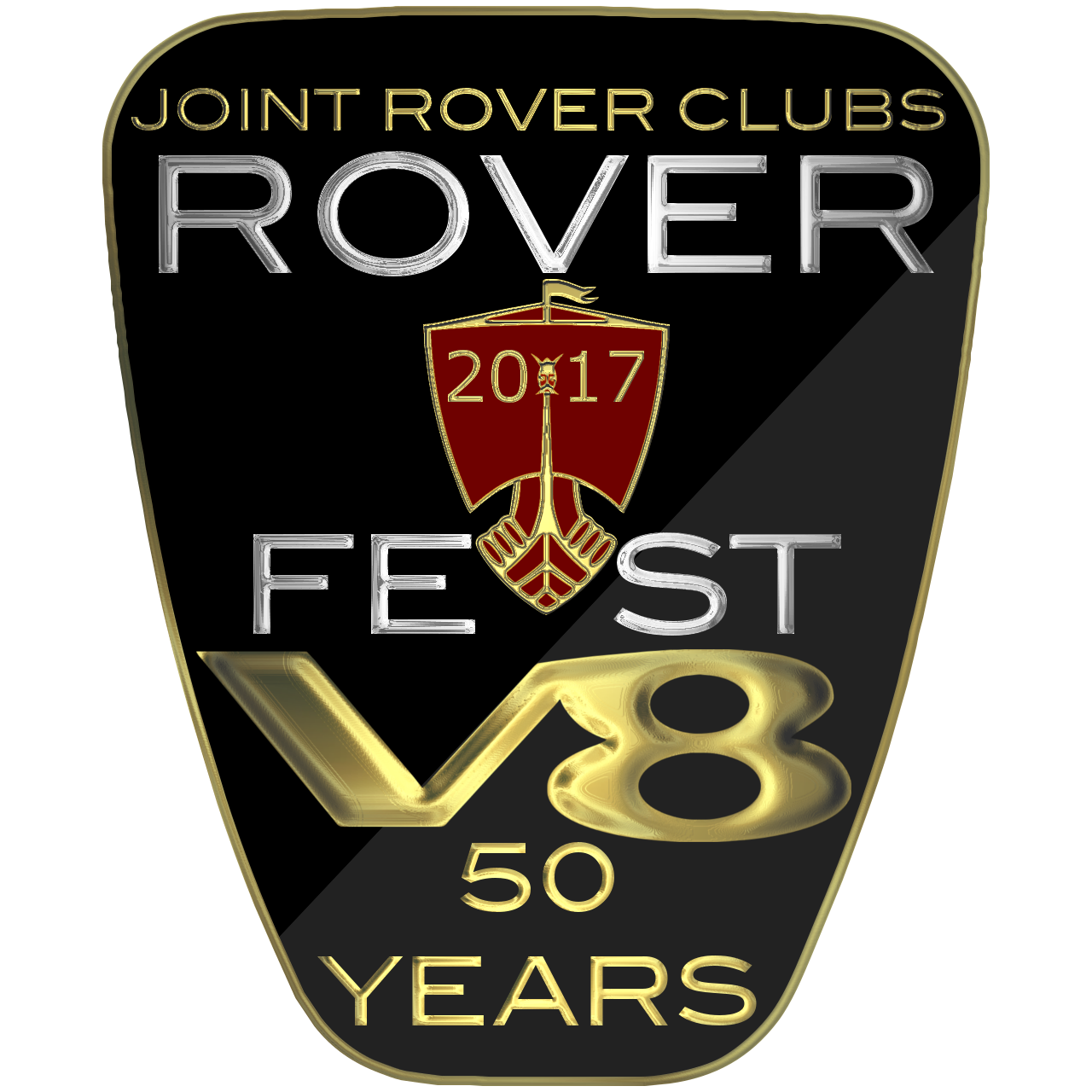 Roverfest Grille Badge