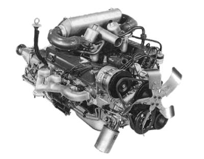 The Rover V8